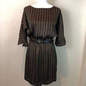Michael Kors Brown Dress Belt Silky Soft Like New